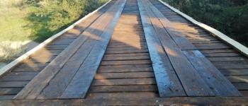 Vereador Valter Brito pede ponte de concreto, sobre o Rio Panduí