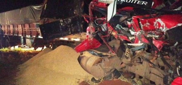 Animal na pista provoca grave acidente entre Amambai e Tacuru