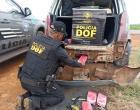 Veículo que seguia para Amambai com pasta base de cocaína foi apreendido pelo DOF