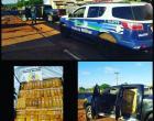 Polícia Militar apreende 1.630 kg de maconha e recupera veículo com queixa de roubo ou furto em Amambai