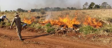 Aldeias recebem curso de Prevenção e Combate a Incêndios