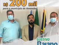 Loester Trutis destina emenda de 200 mil para Amambai