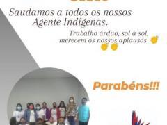 Vereador Tato Souza parabeniza agentes de saúde indígena