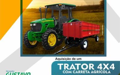 Vereador Gustavo Baiano solicita emenda ao Dep. Federal Luiz Ovando