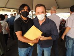 Vereador Tato Souza faz solicitação a Vander Loubet