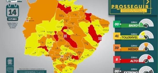 Na nova avaliação do Prosseguir, Amambai está em bandeira laranja