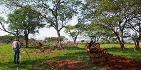 Prefeitura e AGRAER realizam medidas de contenção de água pluvial na região da Mangay