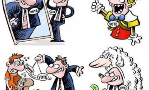 Os políticos e a sociedade