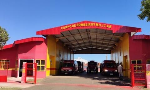 Corpo de bombeiro faz atendimento de emergência na zona rural