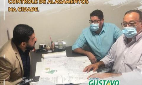 Vereador Gustavo Baiano busca recursos Federais para Amambai