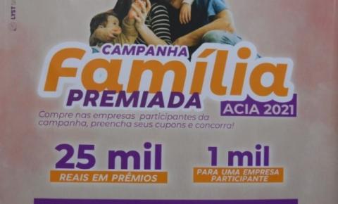 Acia lança nova campanha e vai sortear R$ 25 mil