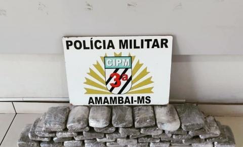 Polícia Militar prende passageira de ônibus transportando 16 kg de maconha