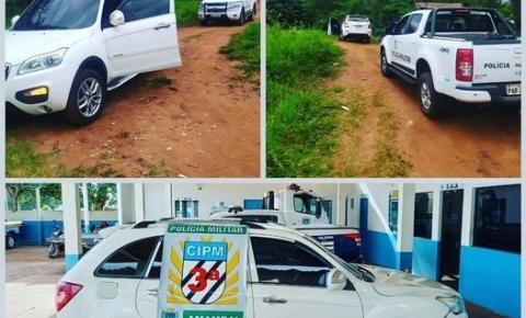 Polícia Militar recupera veículo utilitário com queixa de roubo