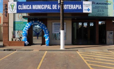 Prefeitura inaugura Clínica Municipal de Fisioterapia em novo local