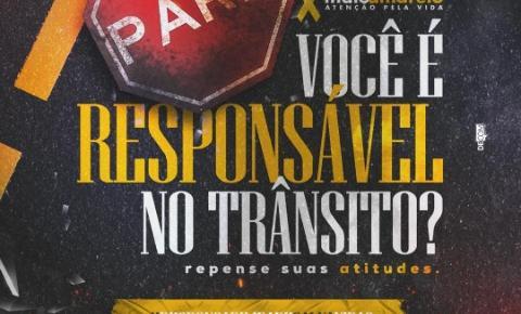 Prefeitura promove campanha Maio Amarelo