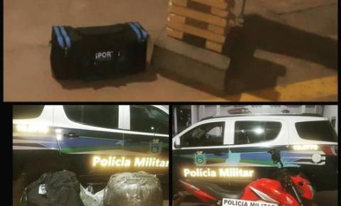 Polícia Militar apreende maconha e produtos de descaminho