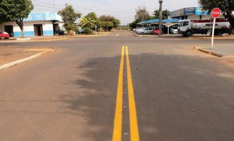 DETRAT e DETRAN recuperam sinalização vertical e horizontal da avenida Pedro Manvailer
