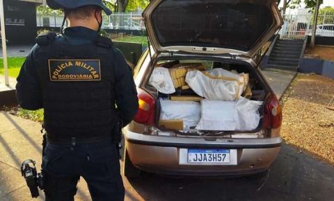 Moradores de Amambai são presos com 452 quilos de maconha