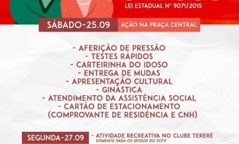 Secretaria Municipal de Assistência Social, realiza ações em alusão a Semana do Idoso