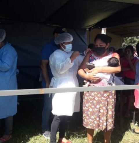 Mais de 50% das aldeias indígenas já estão imunizadas em Amambai